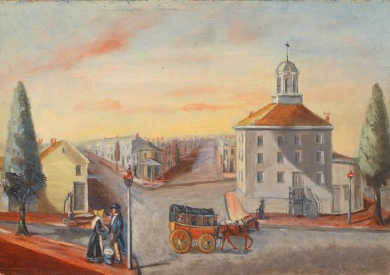 Chappel, William P: Hot Corn Seller. Fine Art Print/Poster (5345)